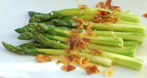 sous vide asparagus