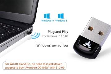 Avantree USB Bluetooth 4.0 Adapter