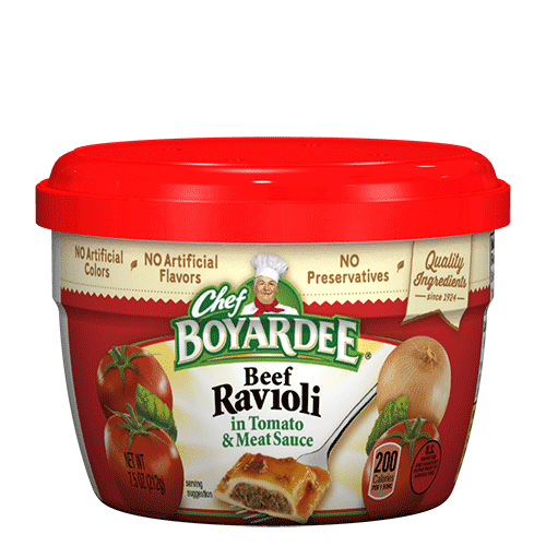 canned beef cheese ravioli