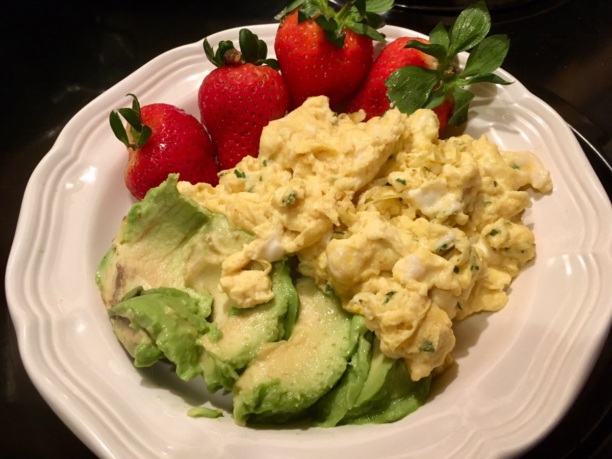 Scrambled Breakfast~ The Weight Loss Trifecta