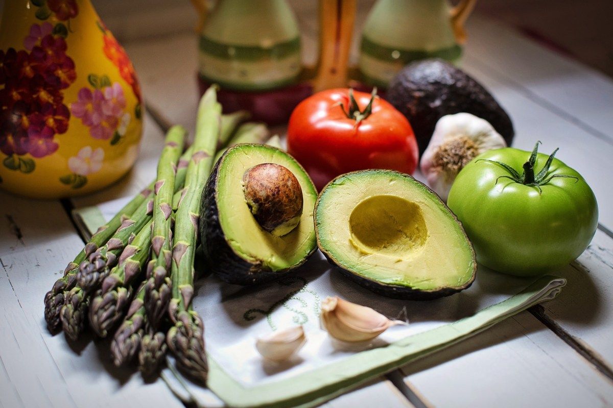 Avocado, asparagus, tomatoes & more