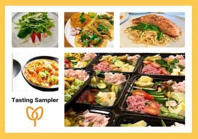 ChefCentury Catering Tasting Sampler Logo