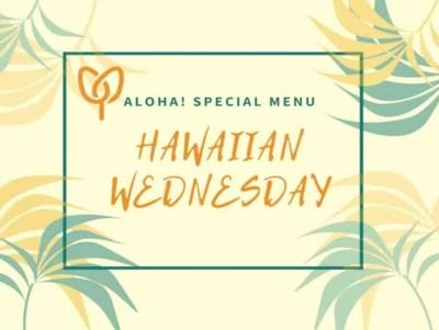 Hawaiian Boxed Lunch