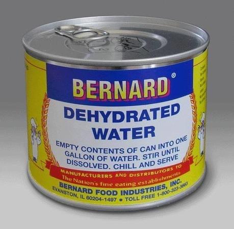 acqua disidratata
