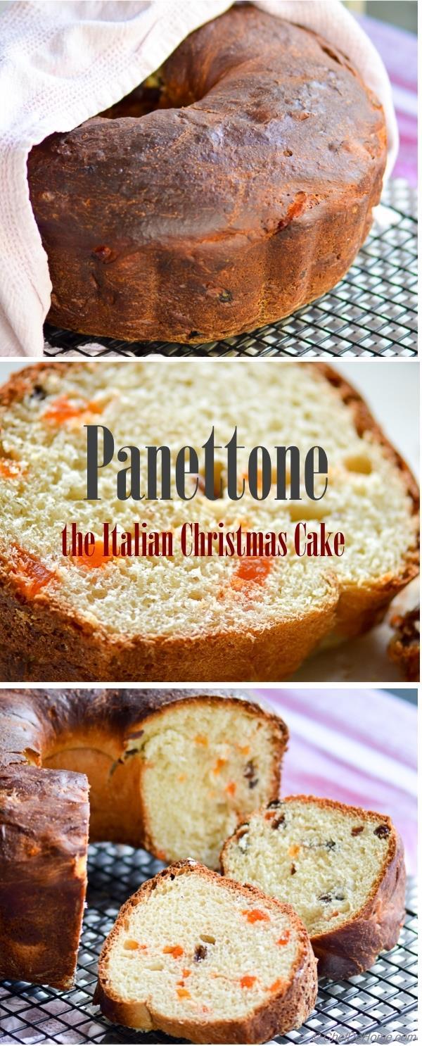 Christmas Panettone an Italian Christmas Cake Recipe