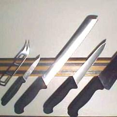 Kitchen Knife Magnet Organization Ideas Knifeblock Com Magnetic Rack Tool Holder