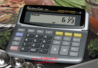 kitchen calculator nook table recipe conversion digital large easy to use counter top