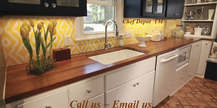 wood countertops kitchen diy ideas for cabinets butcher block new counters table tops edge grain walnut counter top