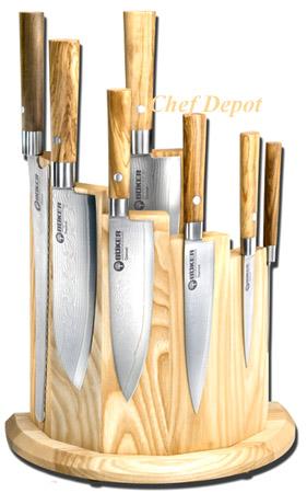 kitchen knife storage laminate cutlery block maple oak jk adams cutting boards olive magnet modern