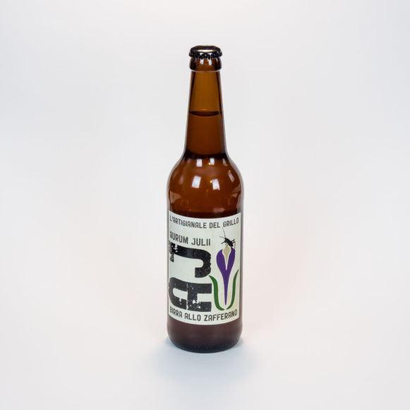 Birra allo zafferano Aurum Julii