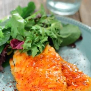 Chicken with Spicy Orange Marmalade Glaze