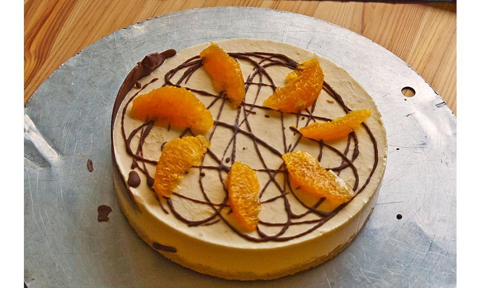 Eistorte  zartschmelzende Tortenkreation aus Eis  Chefkochde