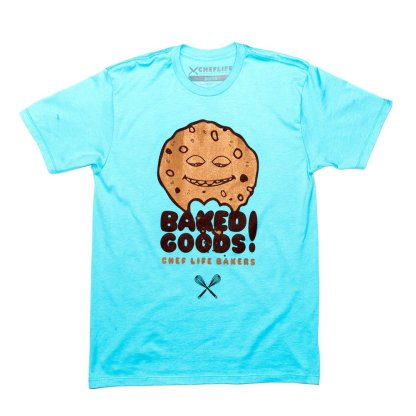 pastry chef tshirts baked goods
