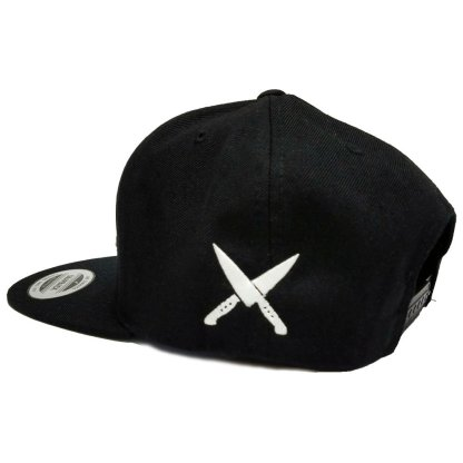 Culinary Kings Snapback Black Sideview