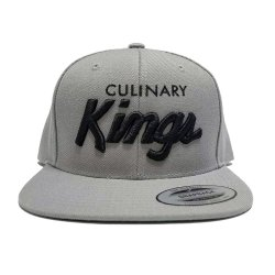 Culinary-Kings-Snapback-LtGrey