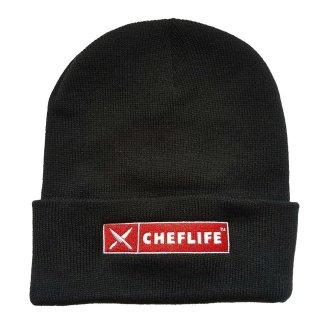cheflife logo beanie red