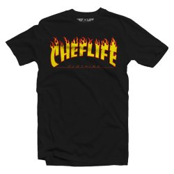 chef life stay lit tshirt