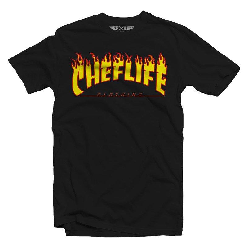 chef life stay lit tshirt