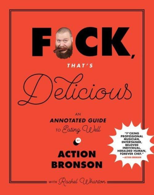 Fuck That's Delicious recipe book