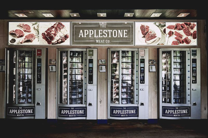 meat vending machines