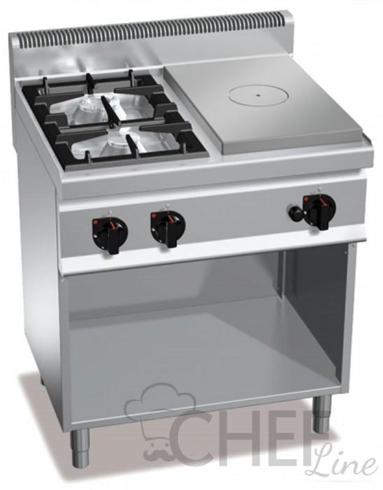 Cucine A Gas Professionali Con Piastra Di Cottura A Gas