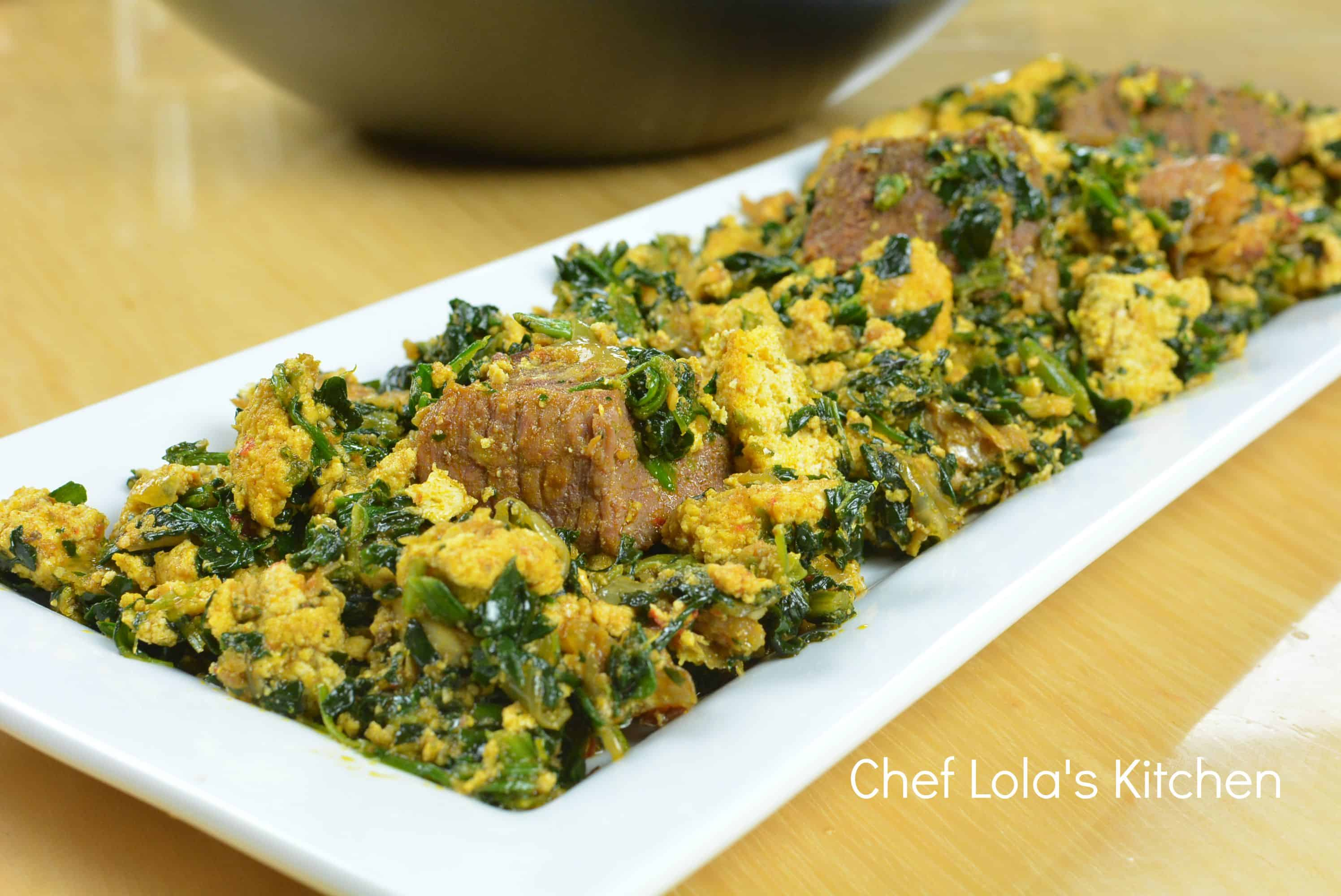 How To Make Nigerian Egusi Soup  Afropotluck VIDEO