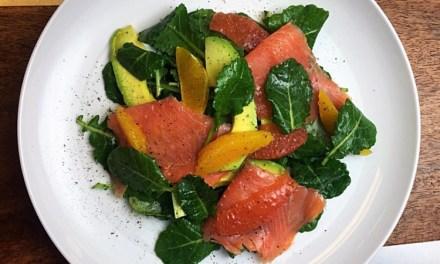 Salmon, Orange, Pink Grapefruit, & Avocado Salad