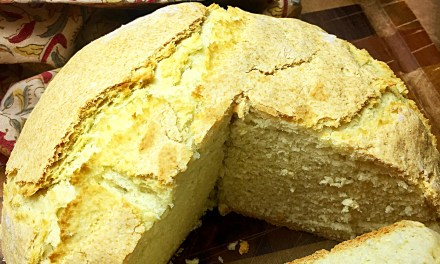 Easy-peasy soda bread