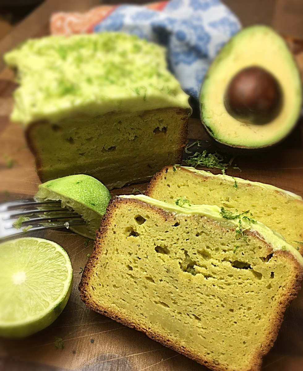 Avocado & Lime Cake