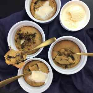 Half Baked Cookie Dough Pots - the ulimate comfort food dessert