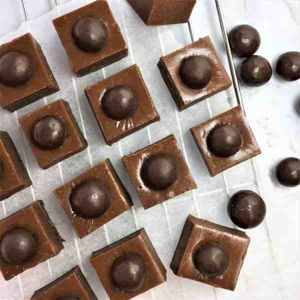 Chocolate coffee fudge - no thermometer required