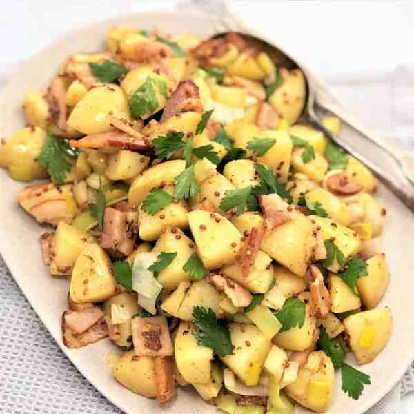 warm mustard potato salad 30 minute recipe
