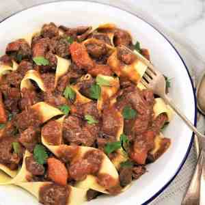 lamb and mushroom ragu slow cooked lamb shanks