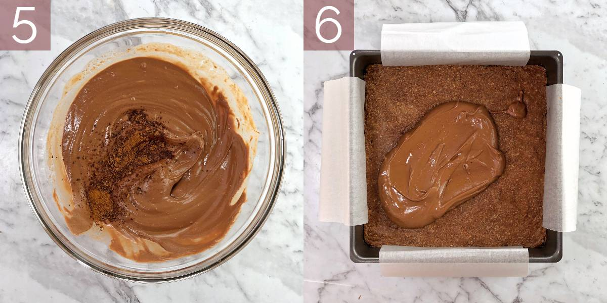 images showing process of cooking this recipe