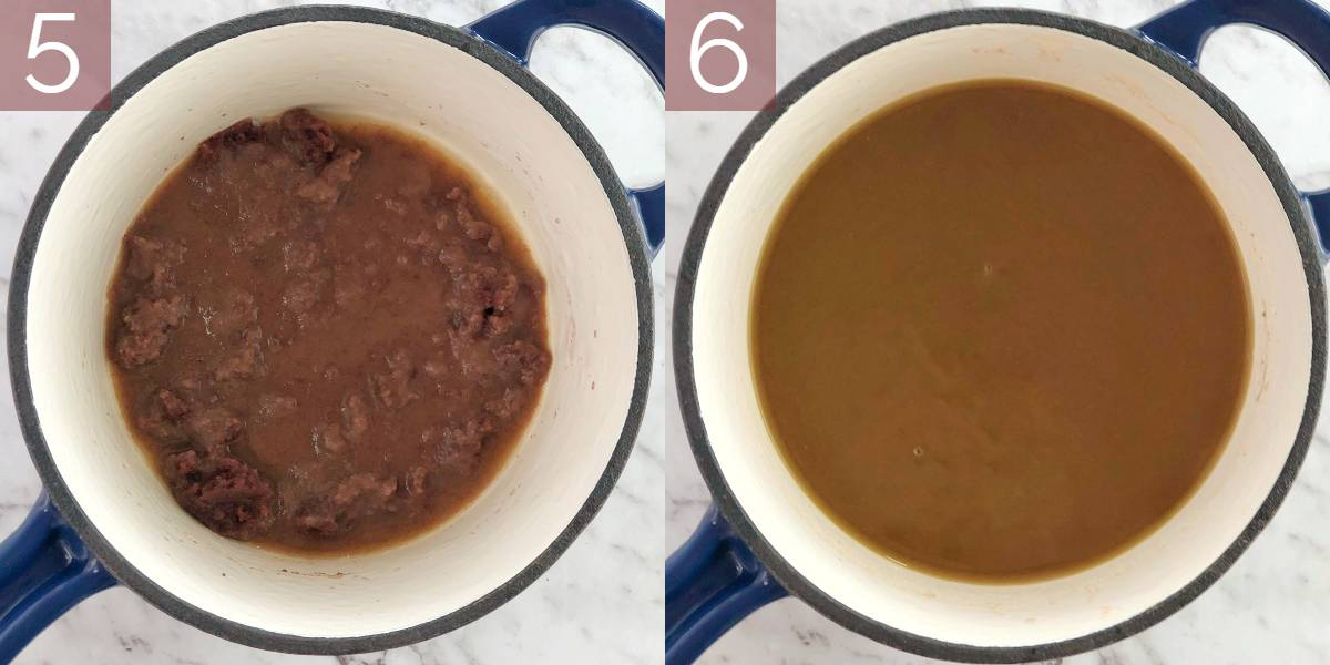 photographs showing how to make recipe