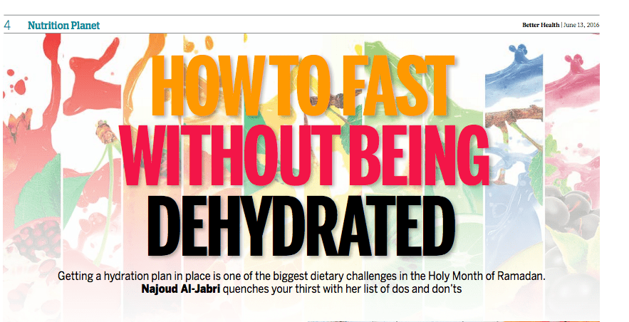 How To Fast Without Being Dehydrated