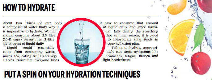 How To Fast Without Being Dehydrated Hydration Techniques