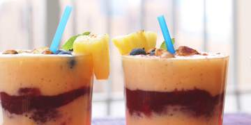 Pineapple Mango Lassi, Perfect For Any Gathering