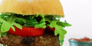 The Hush-Hush Cashew Burger