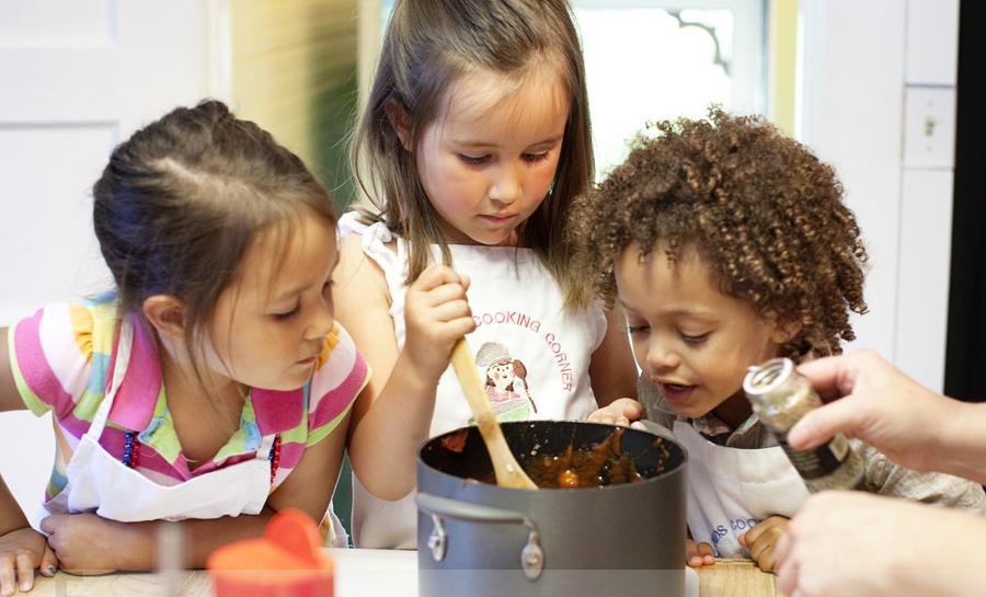 polpette lezione cucina bimbi