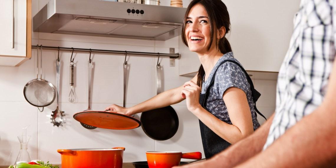 lezioni di cucina in coppia