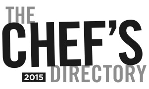 chefs directory 2015 book image