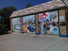Awesome murals in Cuba, MO