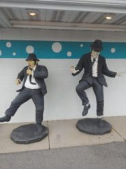 Blues Brothers at the Polka Dot Drive In