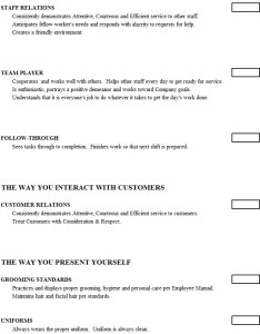 Cook evaluation form image also chefs resources rh