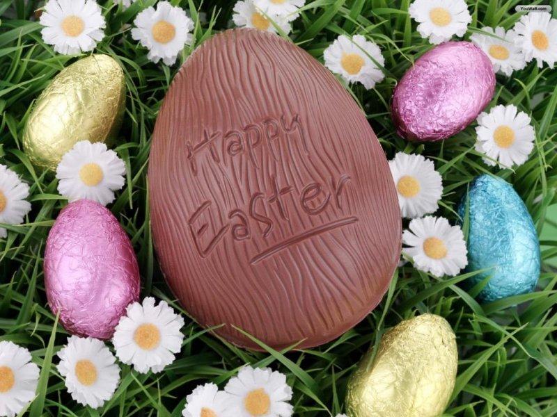 Pasqua fai da te Uovo di cioccolato fatto in casa