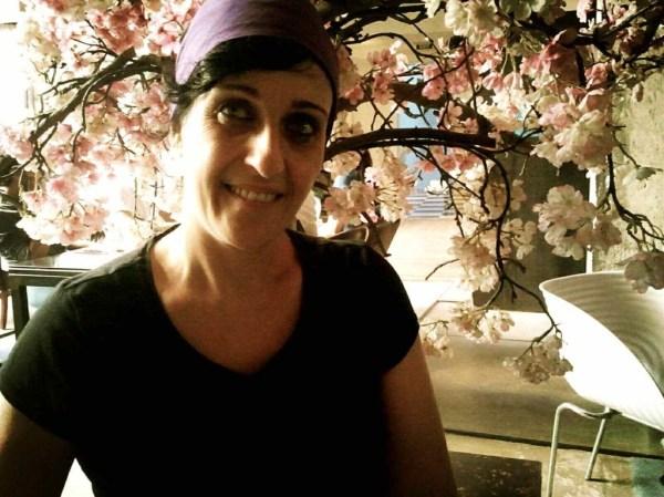 María Salinas, fotografiada en el Brondo Architect Hotel