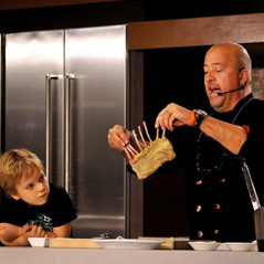 Andrew Zimmern & child