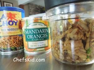 Chicken Fried Rice from ChefsKid.com