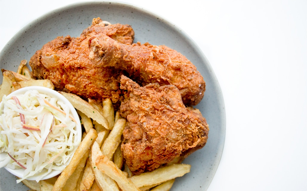 Finger licking good fried chicken chef sous chef - Kentucky french chicken ...